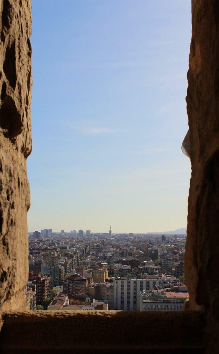 Türme der Sagrada Familia, Barcelona