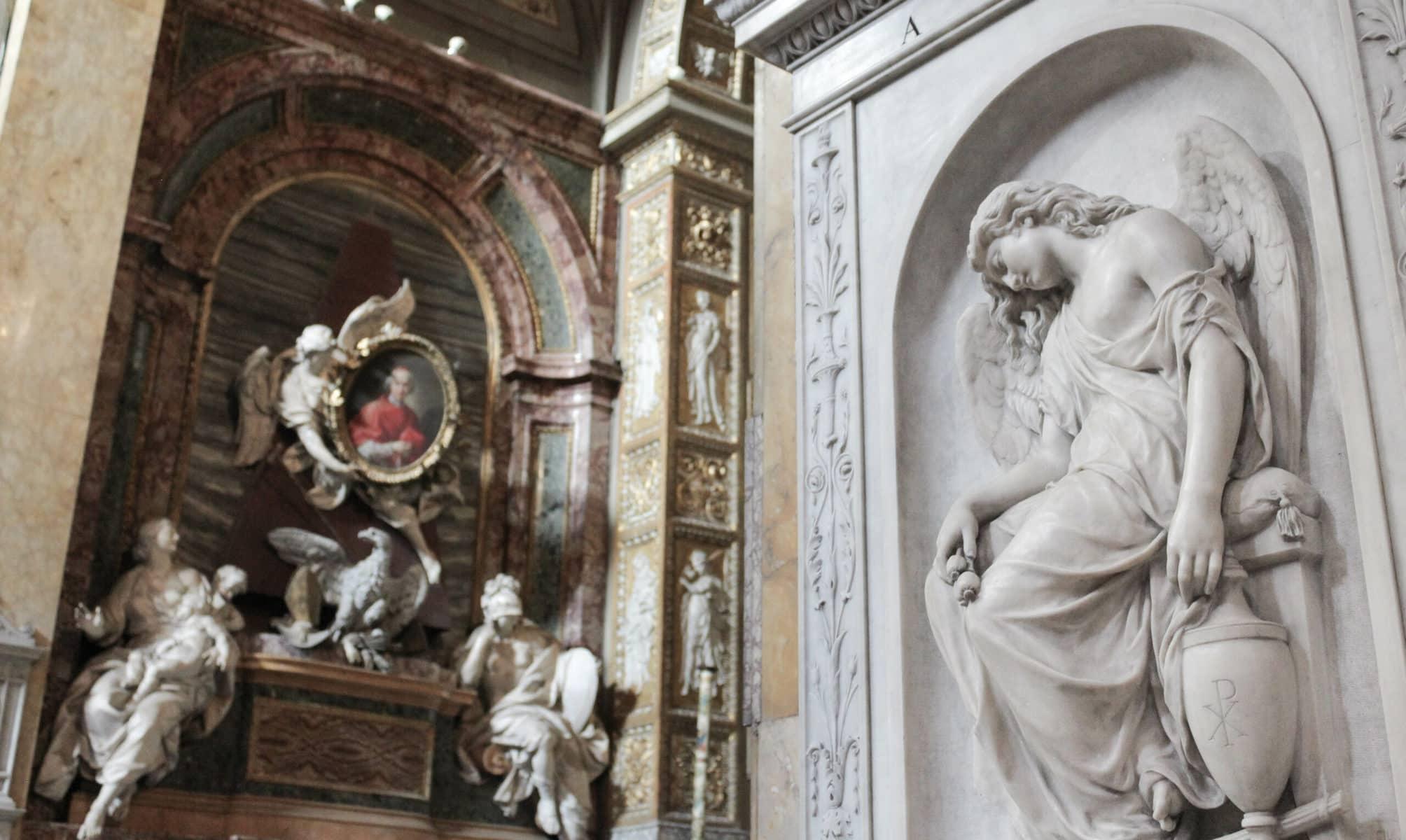Sant' Agostino in Campo Marzio, Rom