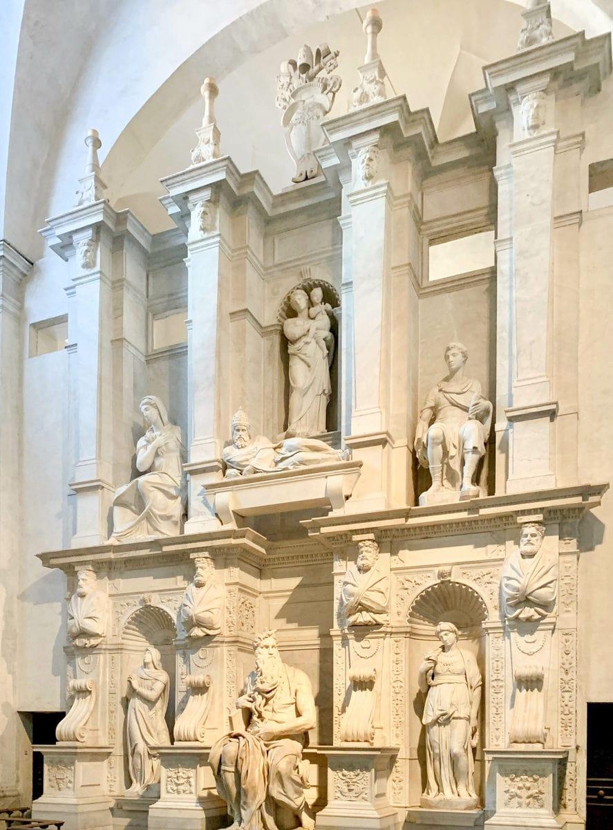 Juliusgrabmal, Michelangelo, San Pietro in Vincoli, Rom
