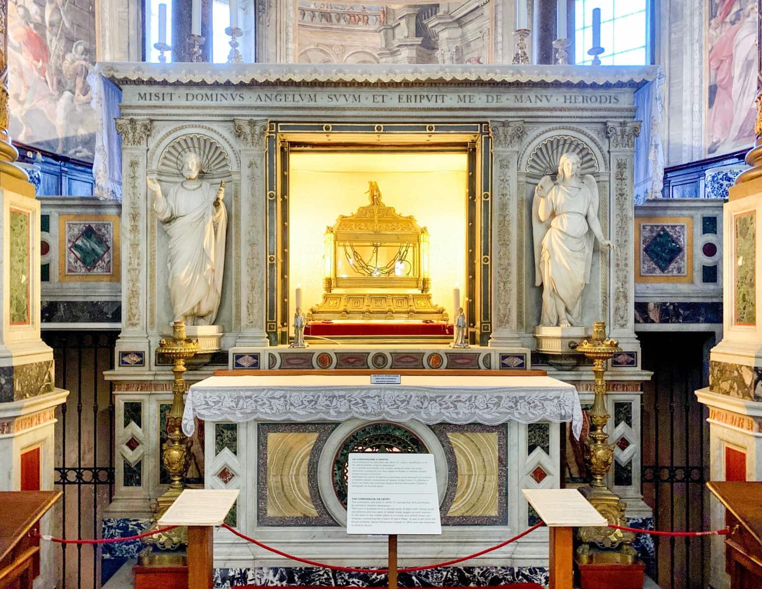 San Pietro in Vincoli: Die Ketten des heiligen Petrus, Rom