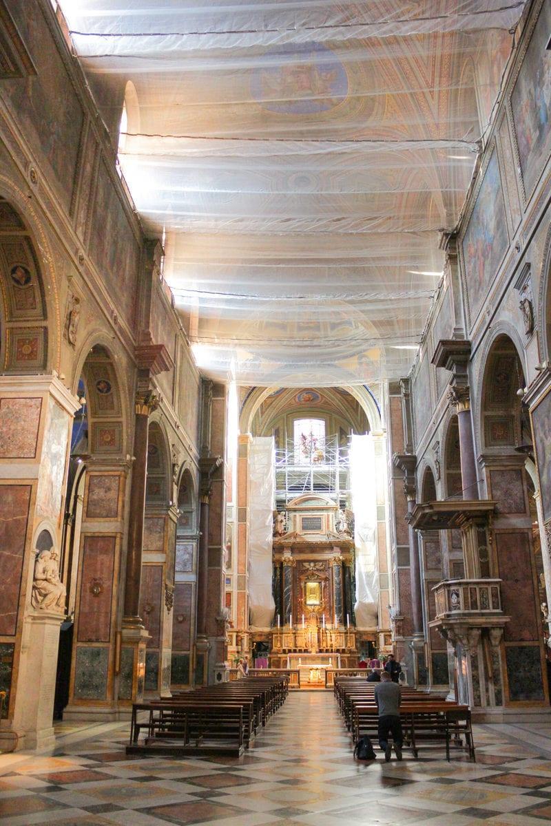 Sant'Agostino in Campo Marzio, Rom