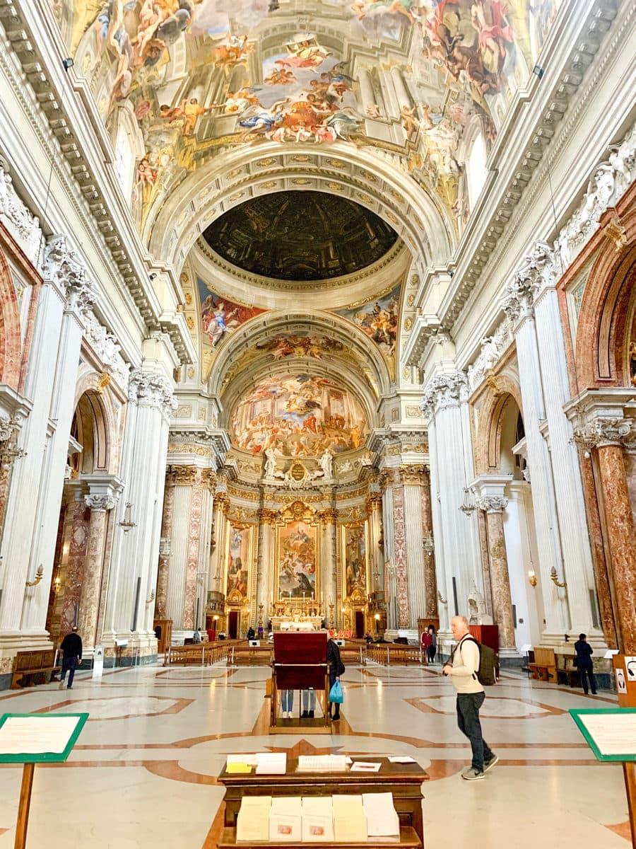 Sant'Ignazio di Loyola, Rom