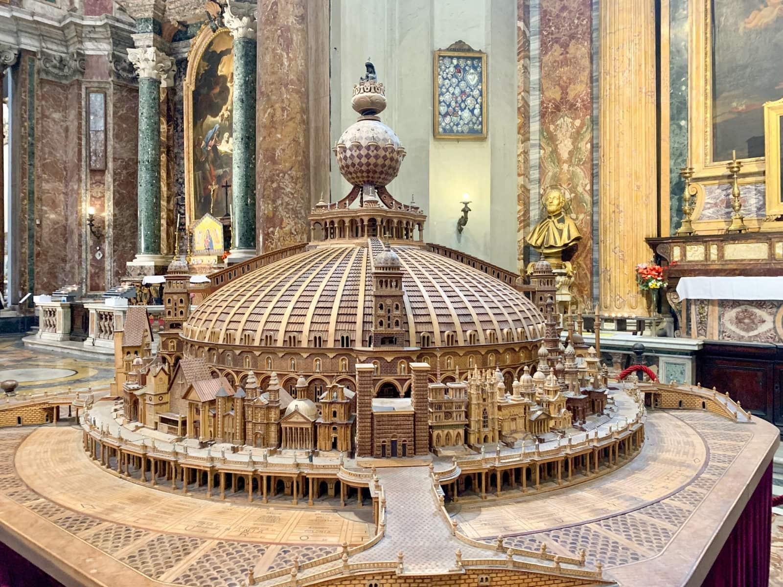 Vincenzo Pandolfi: Der Tempel Christi, Sant'Ignazio di Loyola, Rom