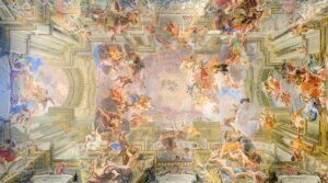 Andrea Pozzo: Apotheose des Heiligen Ignatius, Sant'Ignazio de Loyola, Rom