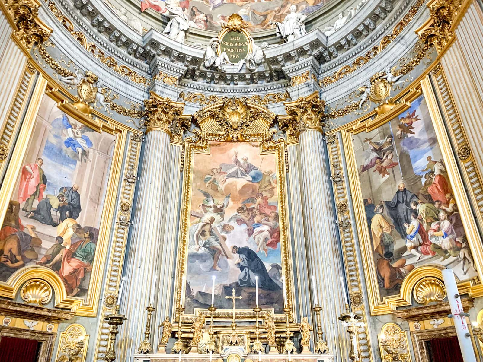 Heiliger Ignazio in Rom betend, Sant'Ignazio di Loyola, Rom
