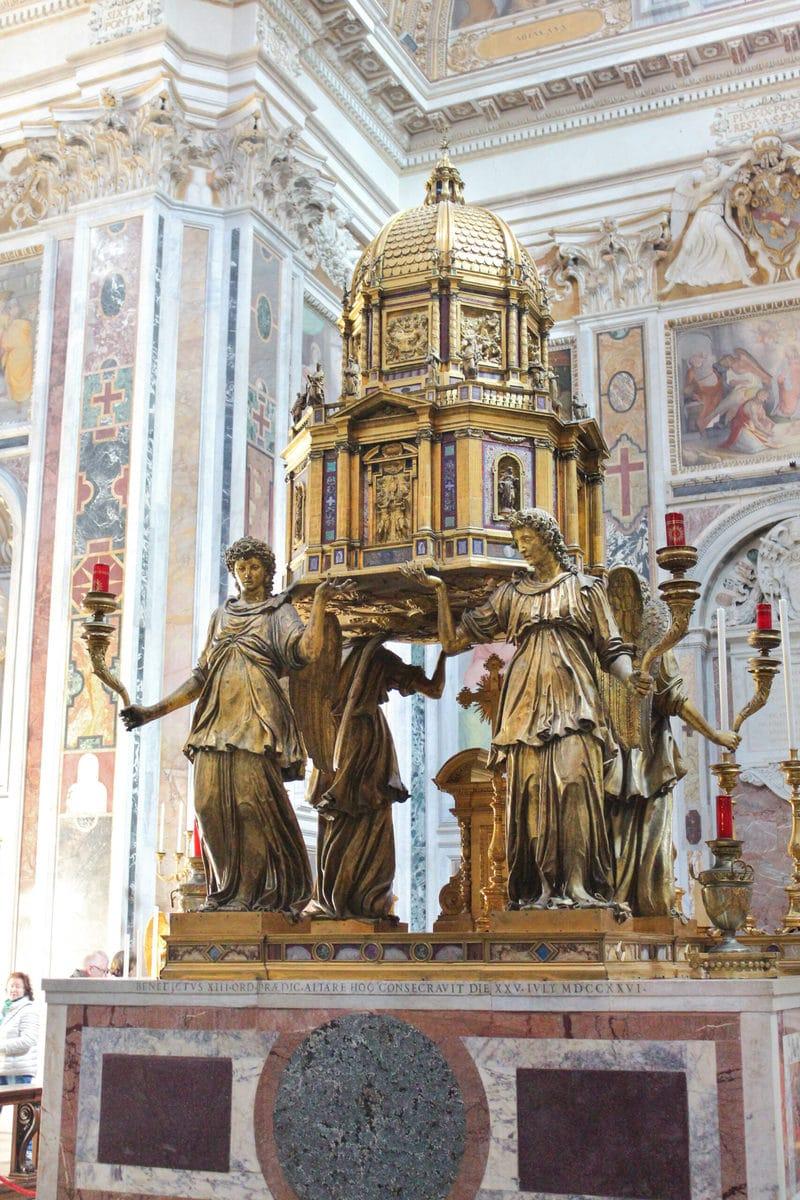 Grabmal Sixtus V, Santa Maria Maggiore, Rom