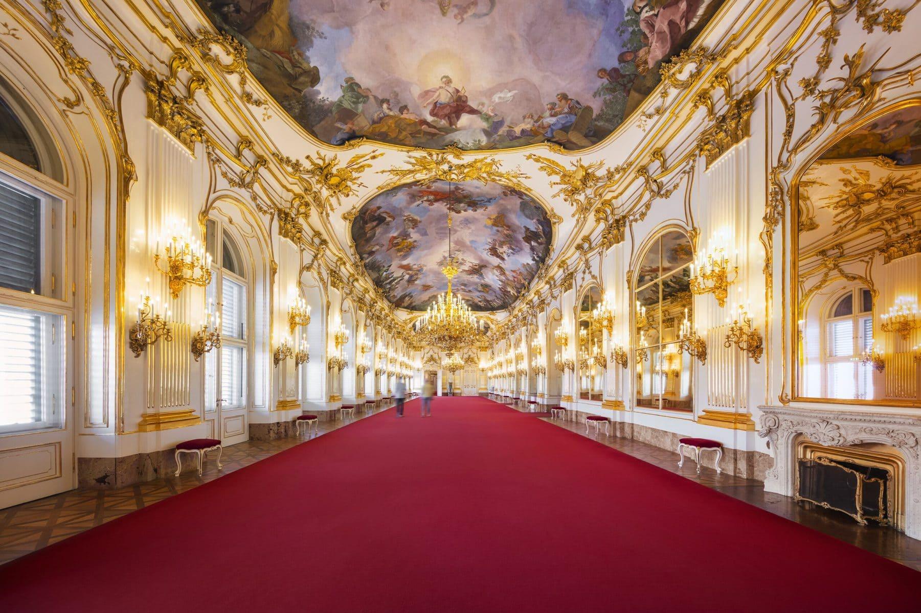 Schloss Schönbrunn Wien, Große Galerie © Schloß Schönbrunn Kultur- und Betriebsges.m.b.H._Severin Wurnig