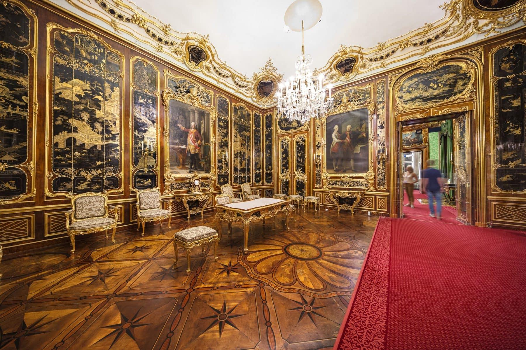 Schloss Schönbrunn Wien, Vieux-Laque-Zimmer © Schloß Schönbrunn Kultur- und Betriebsges.m.b.H._Severin Wurnig