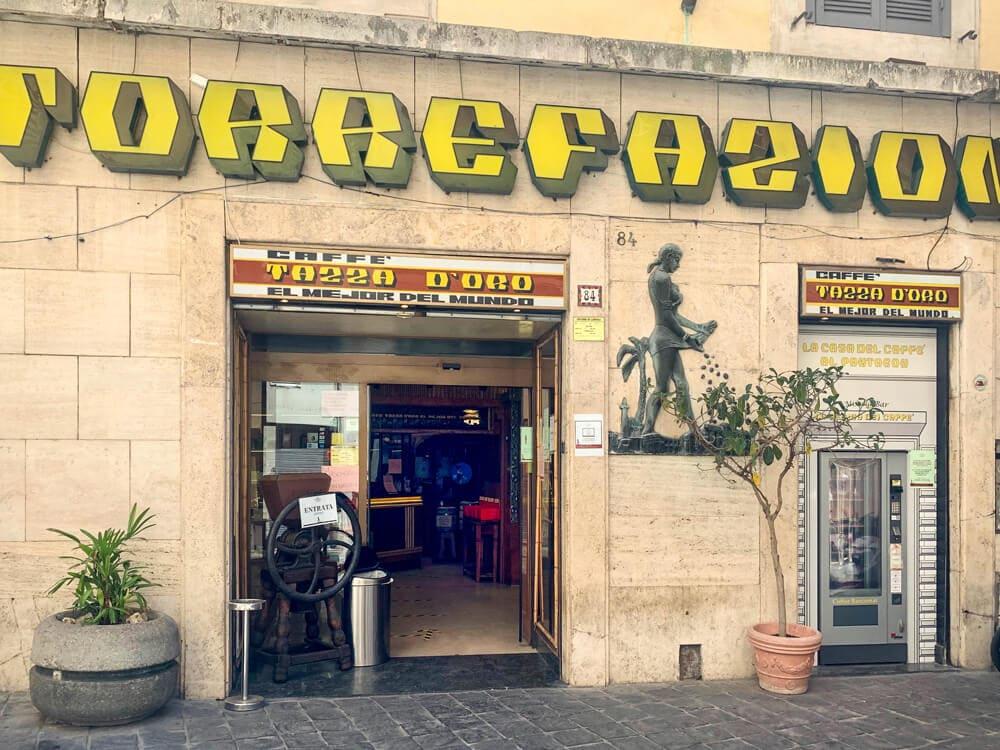 La casa del caffè tazza d'oro, Rom