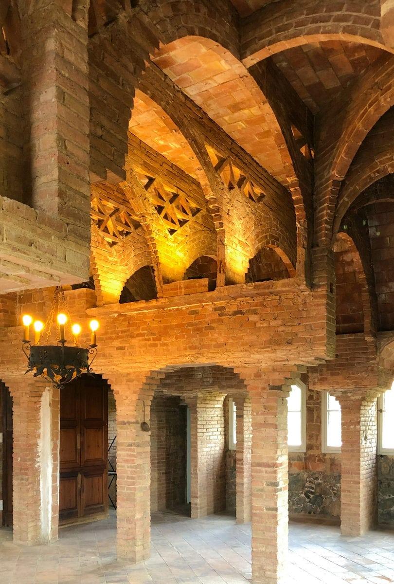 Dachgeschoss, Konzertsaal, Torre Bellesguard, Barcelona