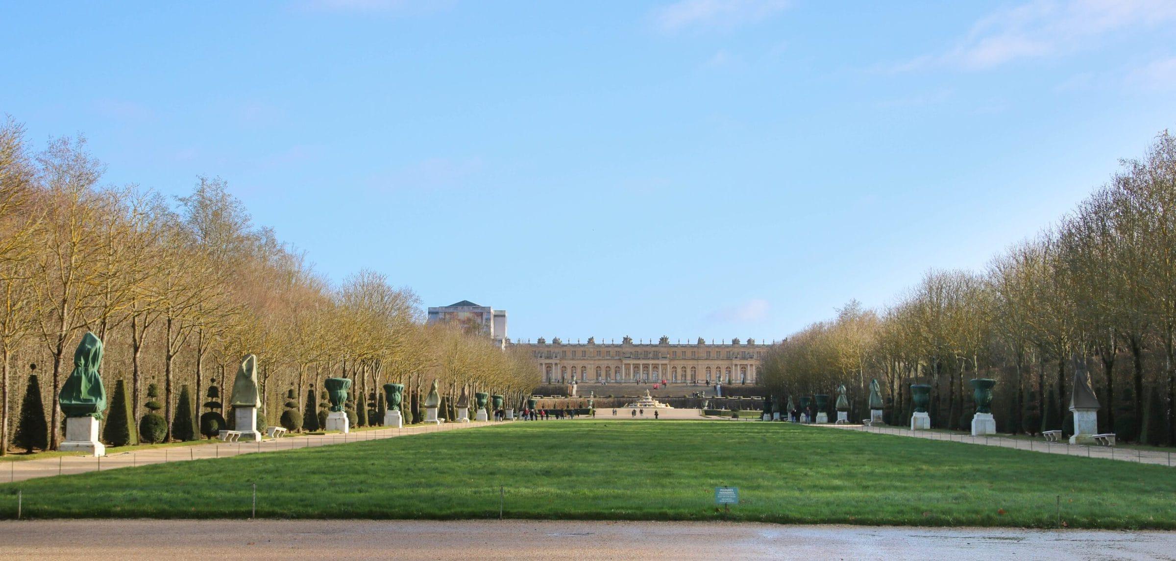 Königliche Allee, Schloss Versailles