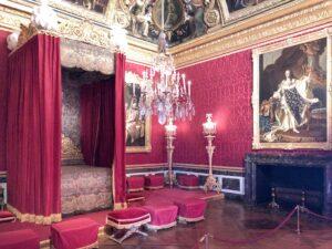 Schlafzimmer im Schloss Versailles