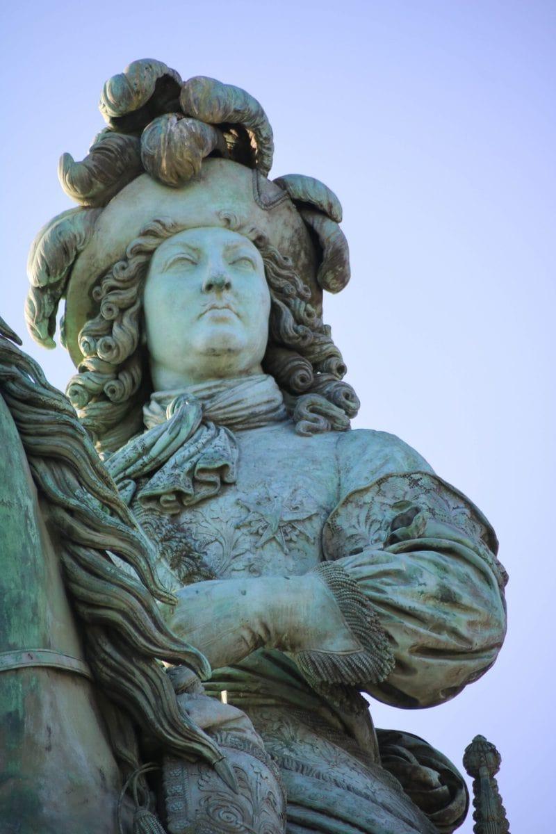Statue von Ludwig XIV, Schloss Versailles