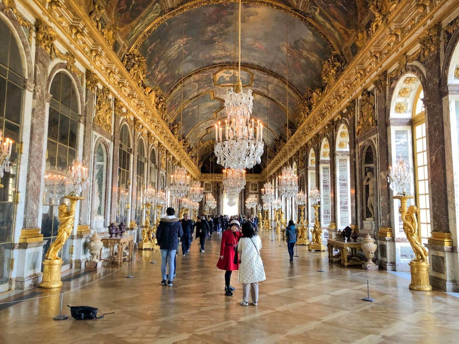 Spiegelsaal von Schloss Versailles