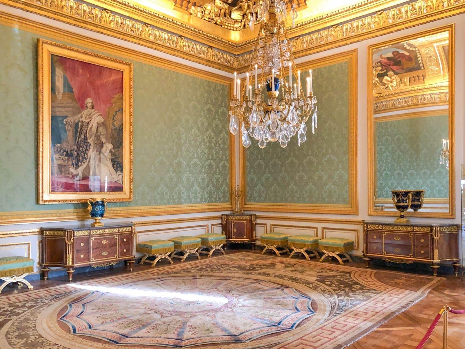 Schloss Versailles: ein Raum der Königin