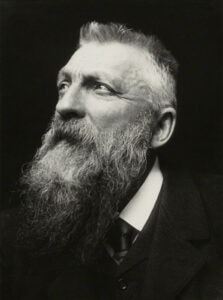 © gemeinfrei, creative commons Auguste Rodin by George Charles Beresford, 1902