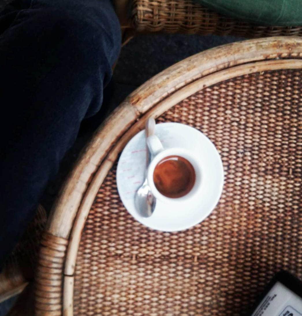 Espresso bei La casa del caffè tazza d'oro, Rom