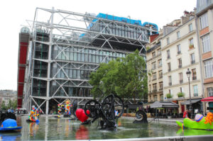 Jean Tingueley, Niki de Saint Phalle: Strawinsky-Brunnen, Centre Pompidou, Paris