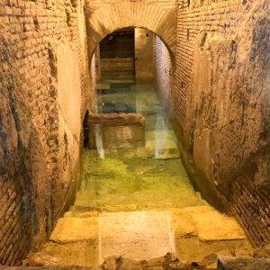 Vicus Caprarius, Città dell'acqua, Rom