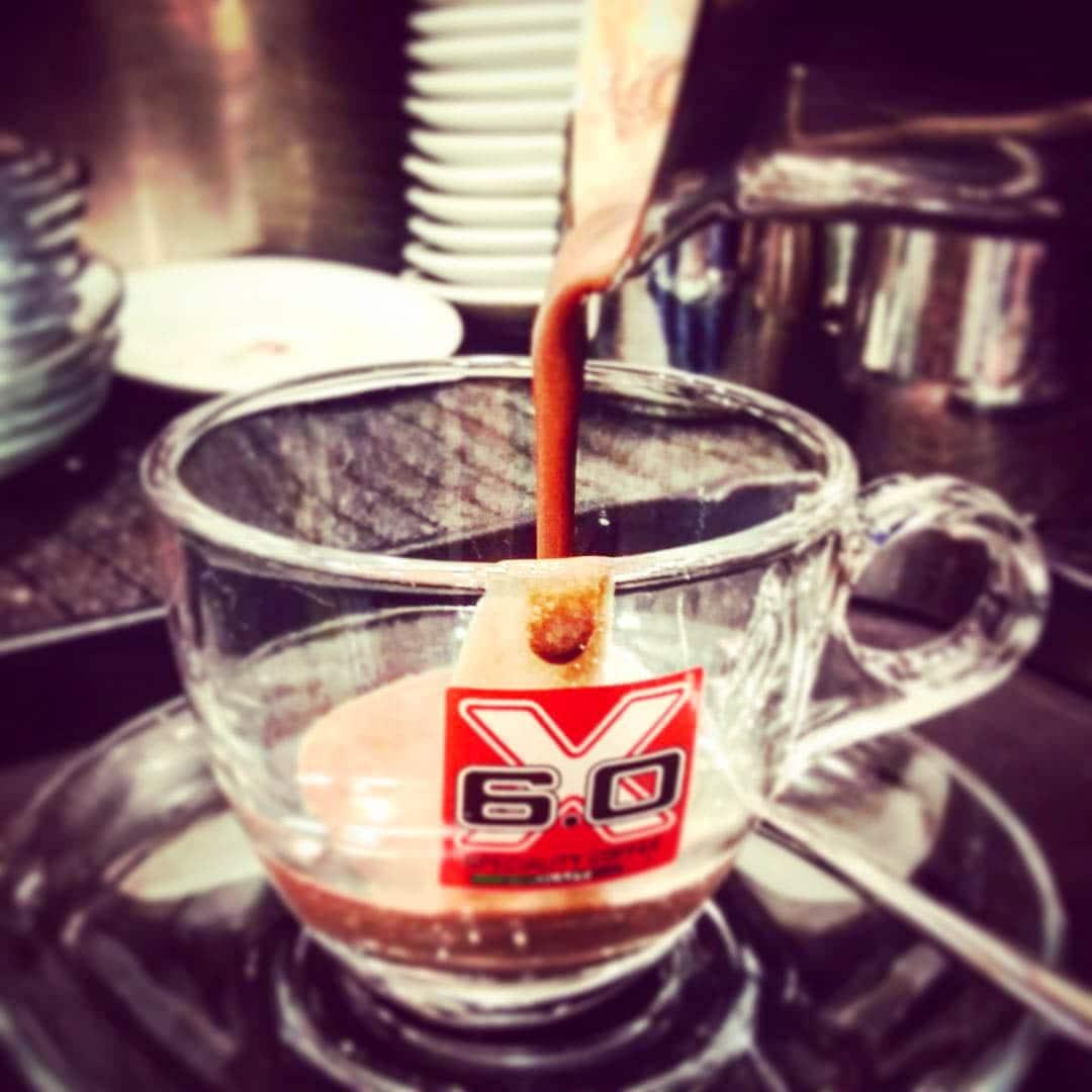 Espresso in Rom