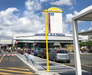 Flughafen Ciampino, Bushaltestelle, Rom