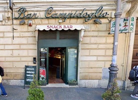 Bar Campidoglio, Rom