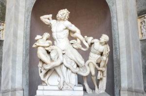 Die Laokoon-Gruppe, Vatikanische Museen, Rom