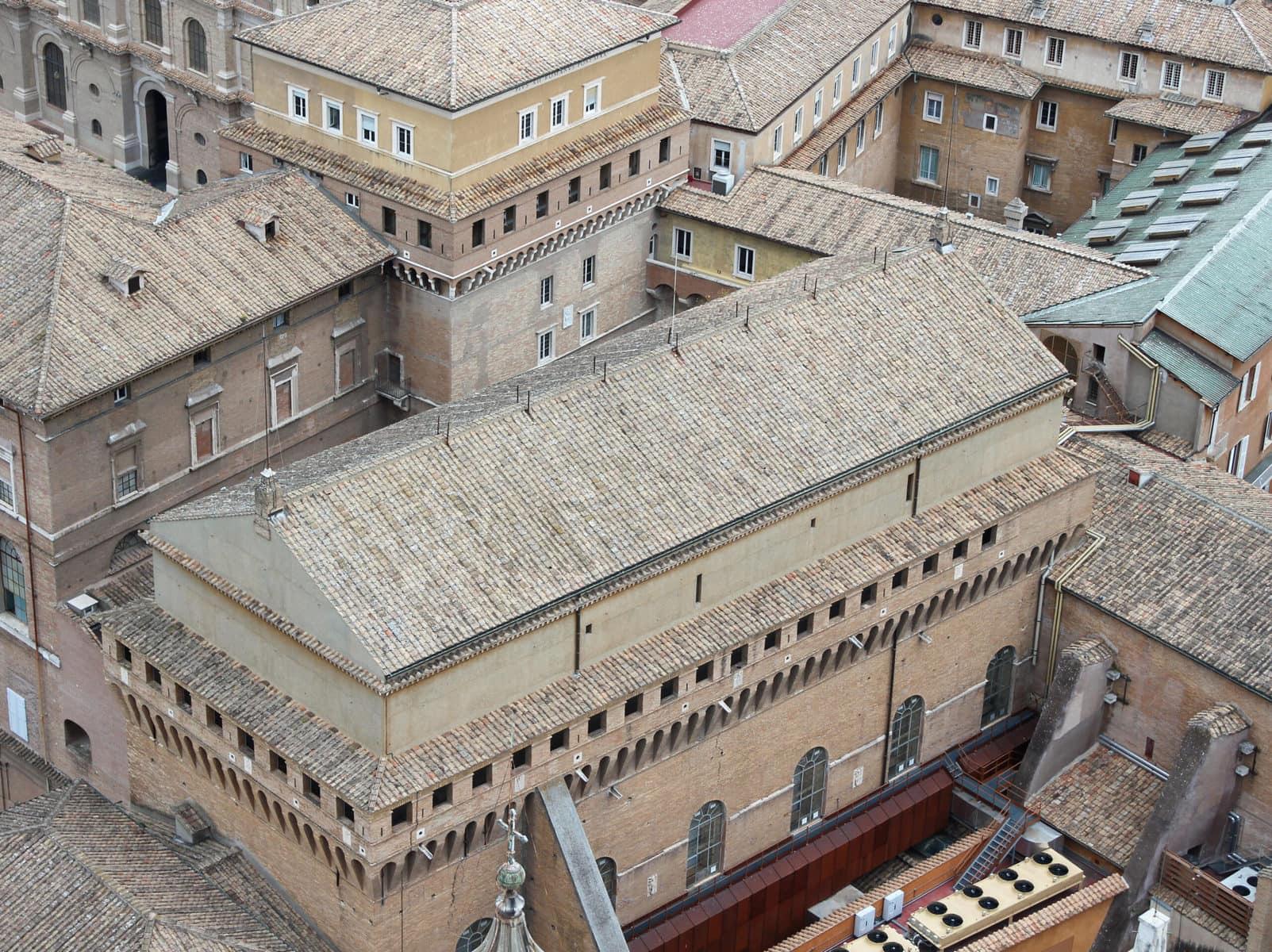 Sixtinische Kapelle, Vatikanische Museen, Rom