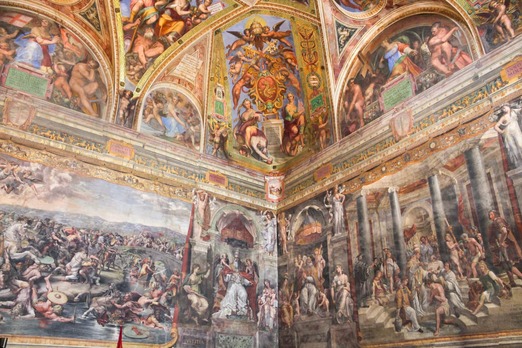 Raffael: Die Kreuzvision, Vatikanische Museen, Rom