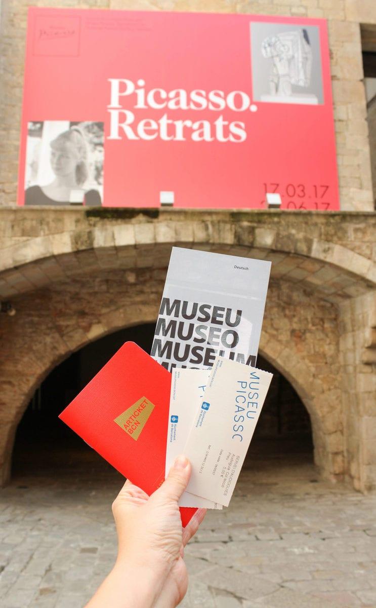 Articket Picasso Museum, Barcelona