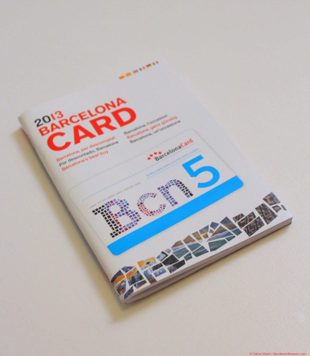 Barcelona Card 5 Tage