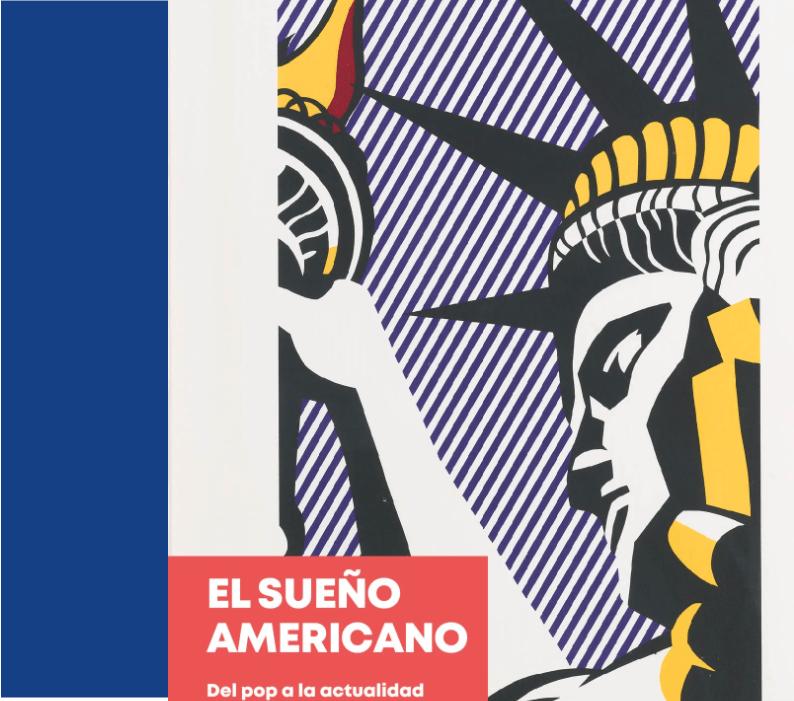 Ausstellung: Der Amerikanische Traum. Von der Pop Art bis heute, Caixa Forum, Barcelona (Bildschirmfoto)