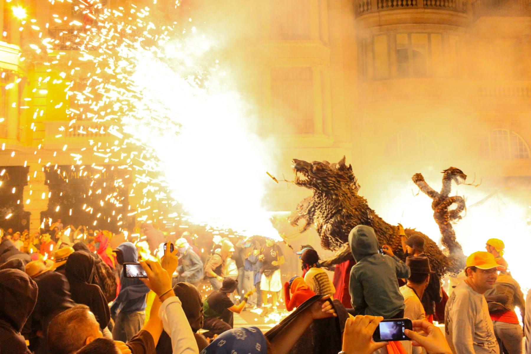 Correfoc Barcelona