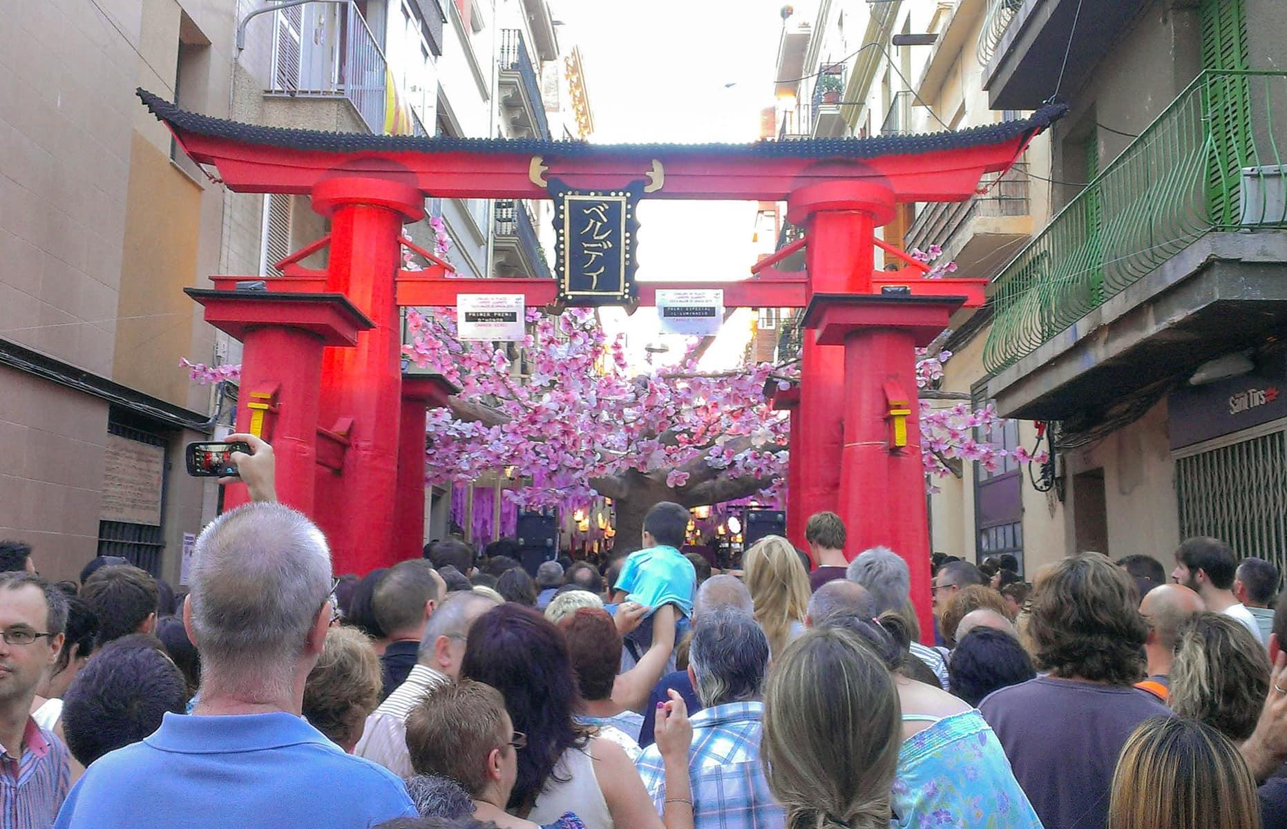Fiesta Mayor de Gràcia, Stadtfest Gracia, Barcelona