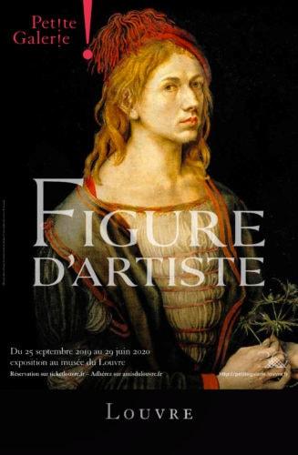 Ausstellung Figure d'Artiste, Louvre (Bildschirmfoto)