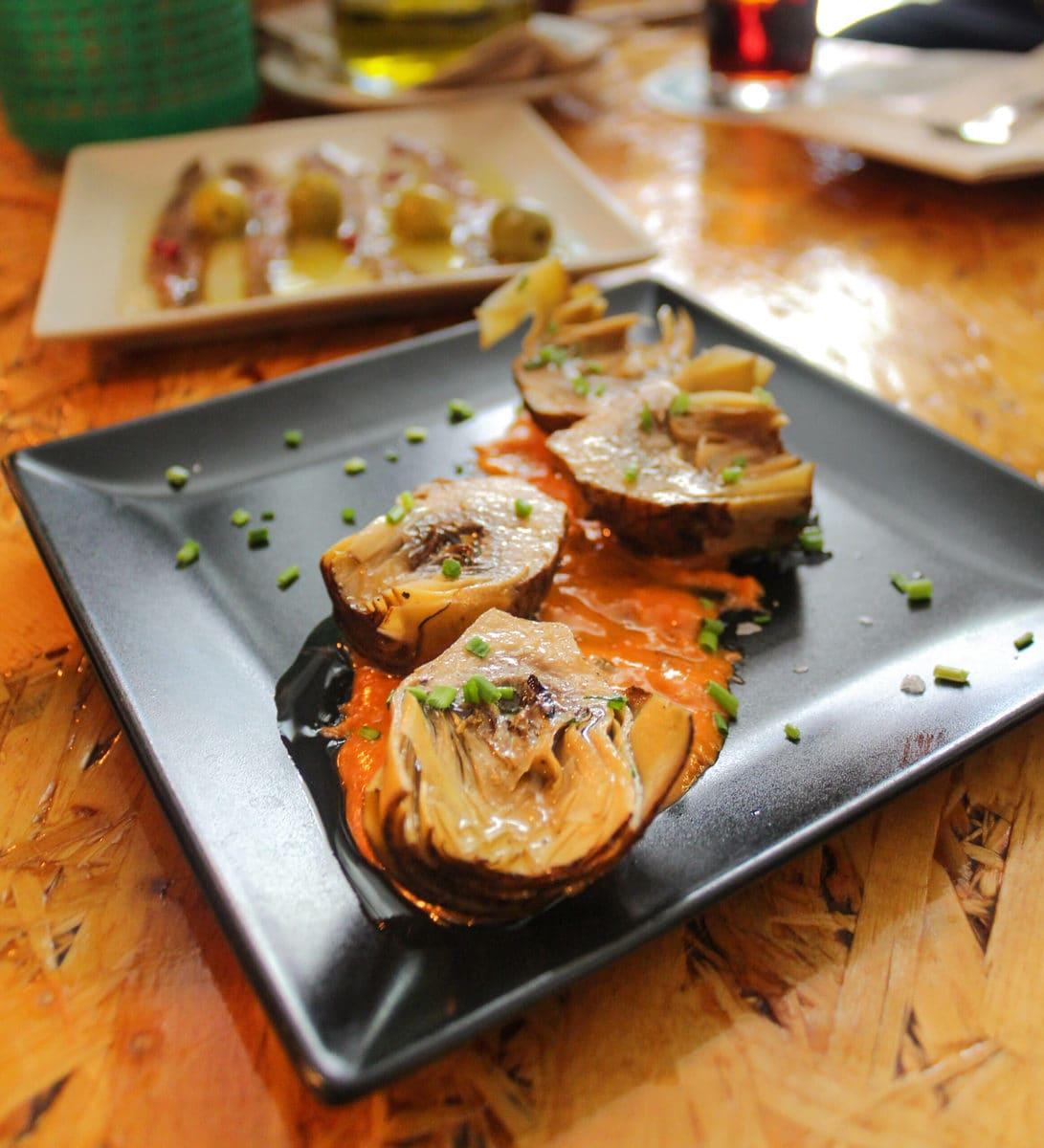 Artischocken, Foodtour Barcelona