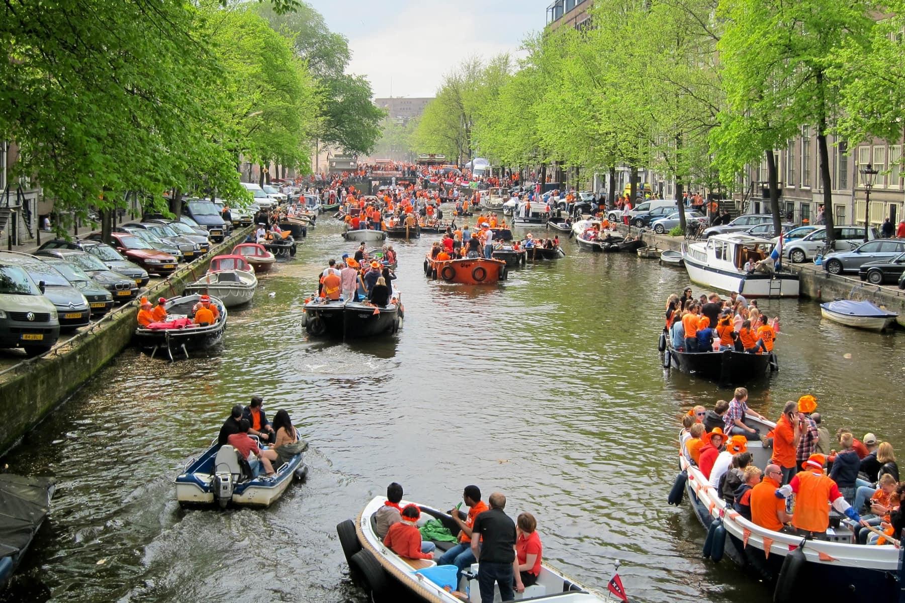 Königstag Amsterdam