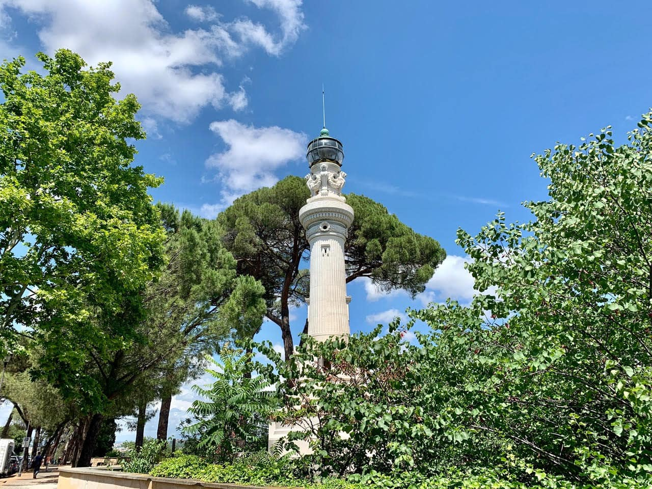 Leuchtturm Gianicolo, Rom