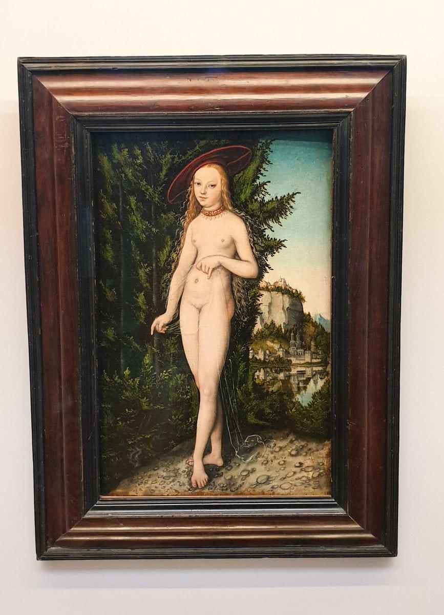 Lucas Cranach d. Ä.: Venus in einer Landschaft, Louvre, Paris