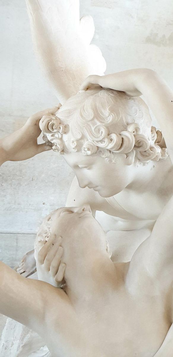 Antonio Canova: Amor und Psyche, Louvre, Paris