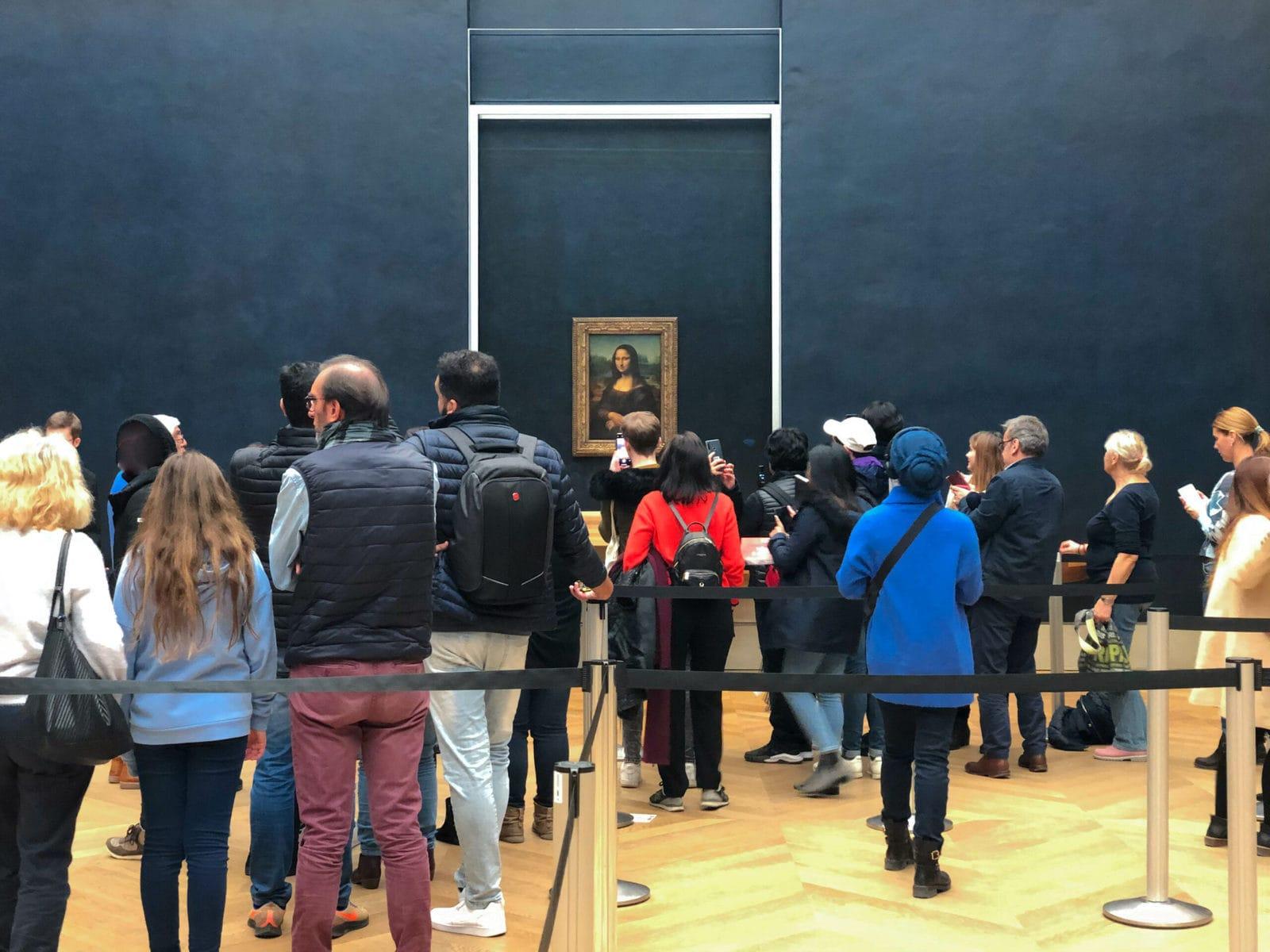 Mona Lisa, Louvre, Paris
