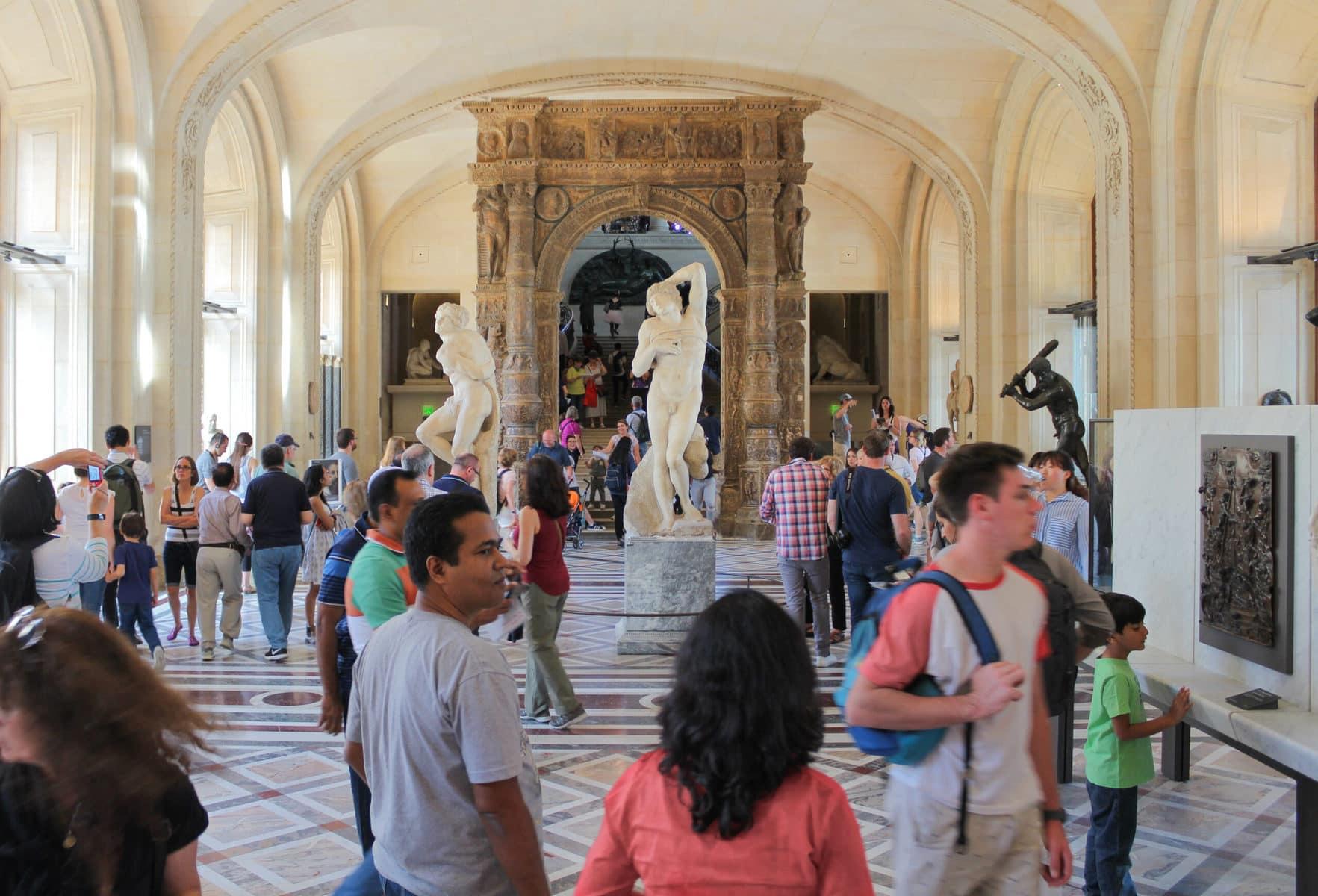 Michelangelos Sklaven, Louvre, Paris
