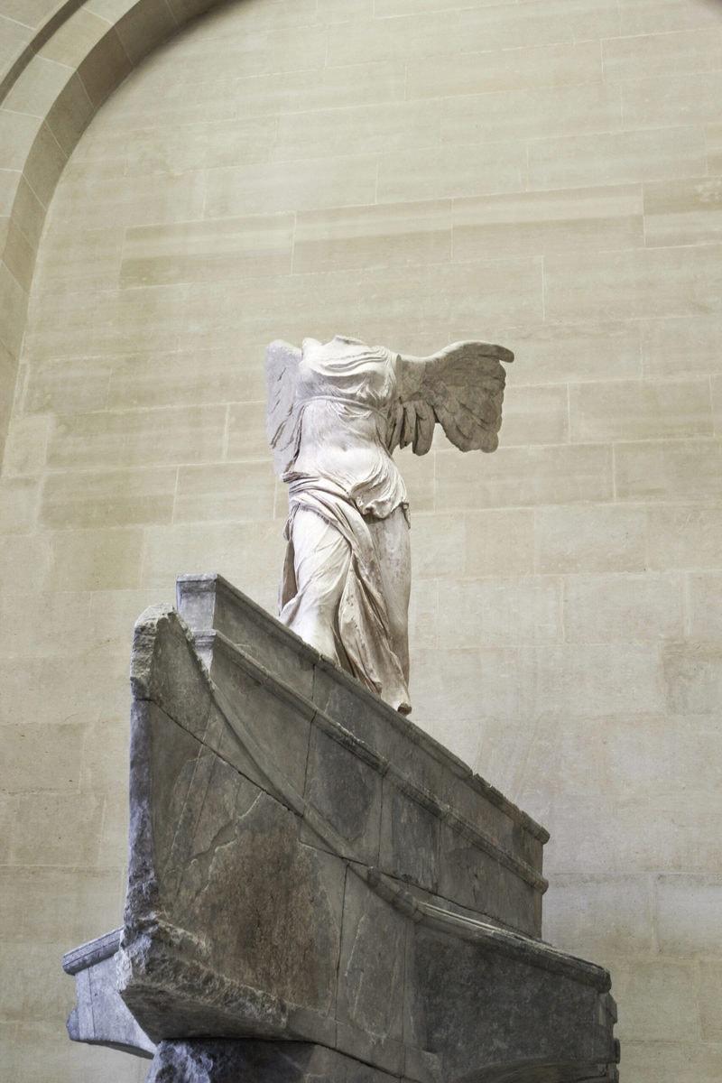 Nike von Samothrake, Louvre, Paris