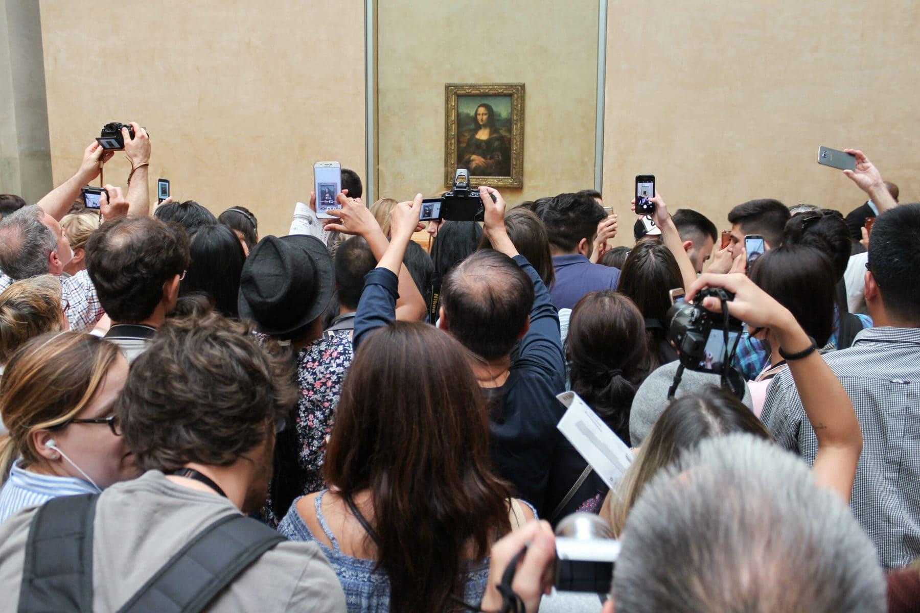 Mona Lisa, Besucher, Paris