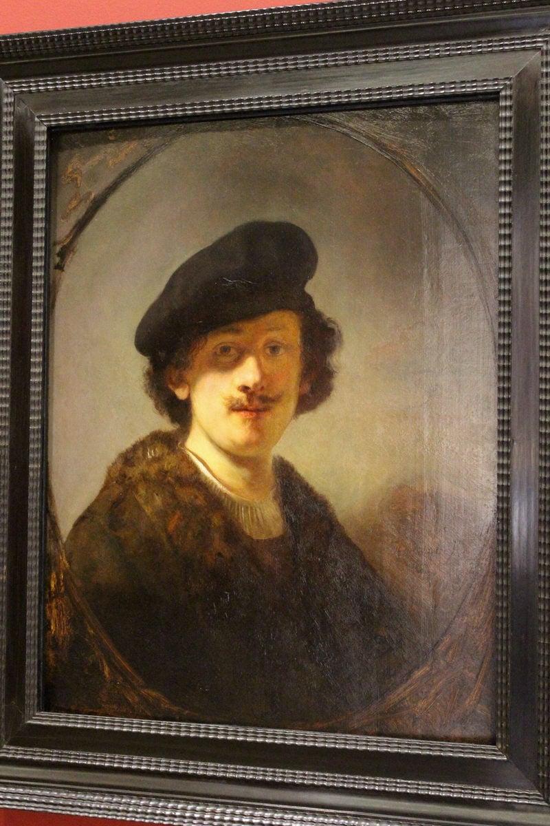 Rembrandt: Selbstporträt, Louvre, Paris