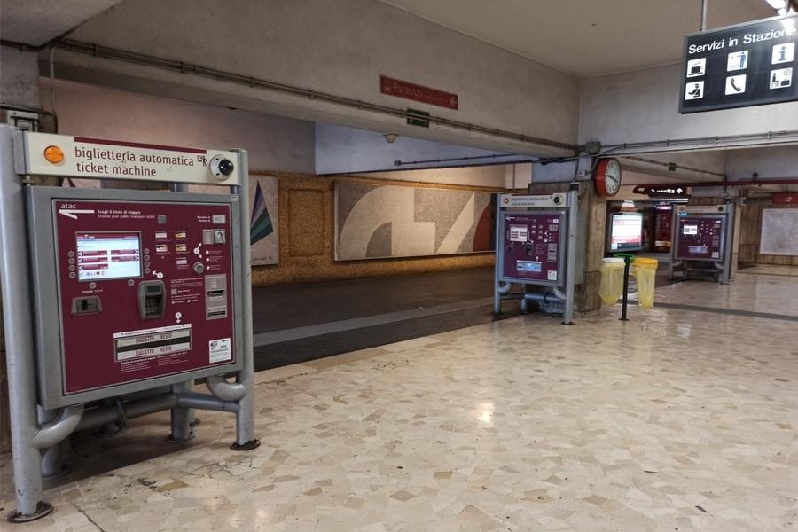 Ticketautomat ÖPNV Rom