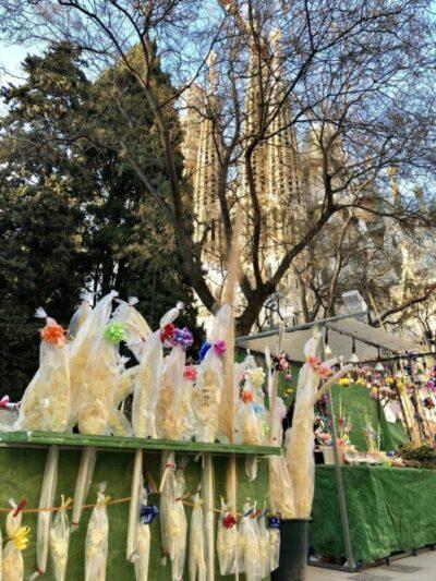 Palmsonntag Sagrada Familia, Barcelona