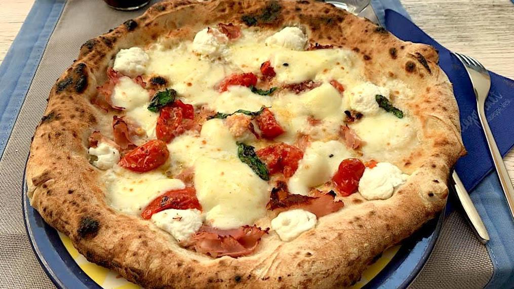 Pizza in Rom