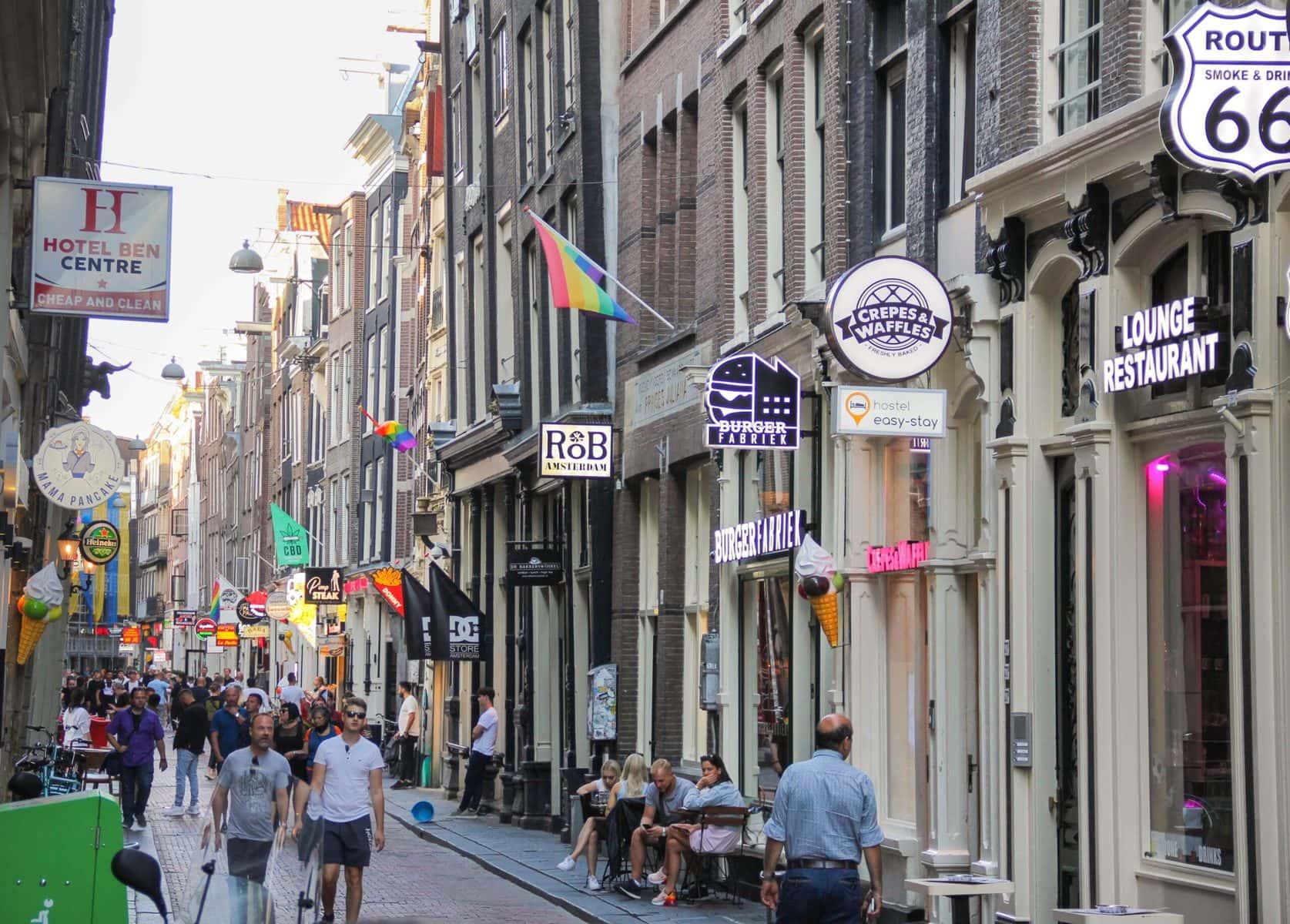 Rotlicht-Führung Amsterdam