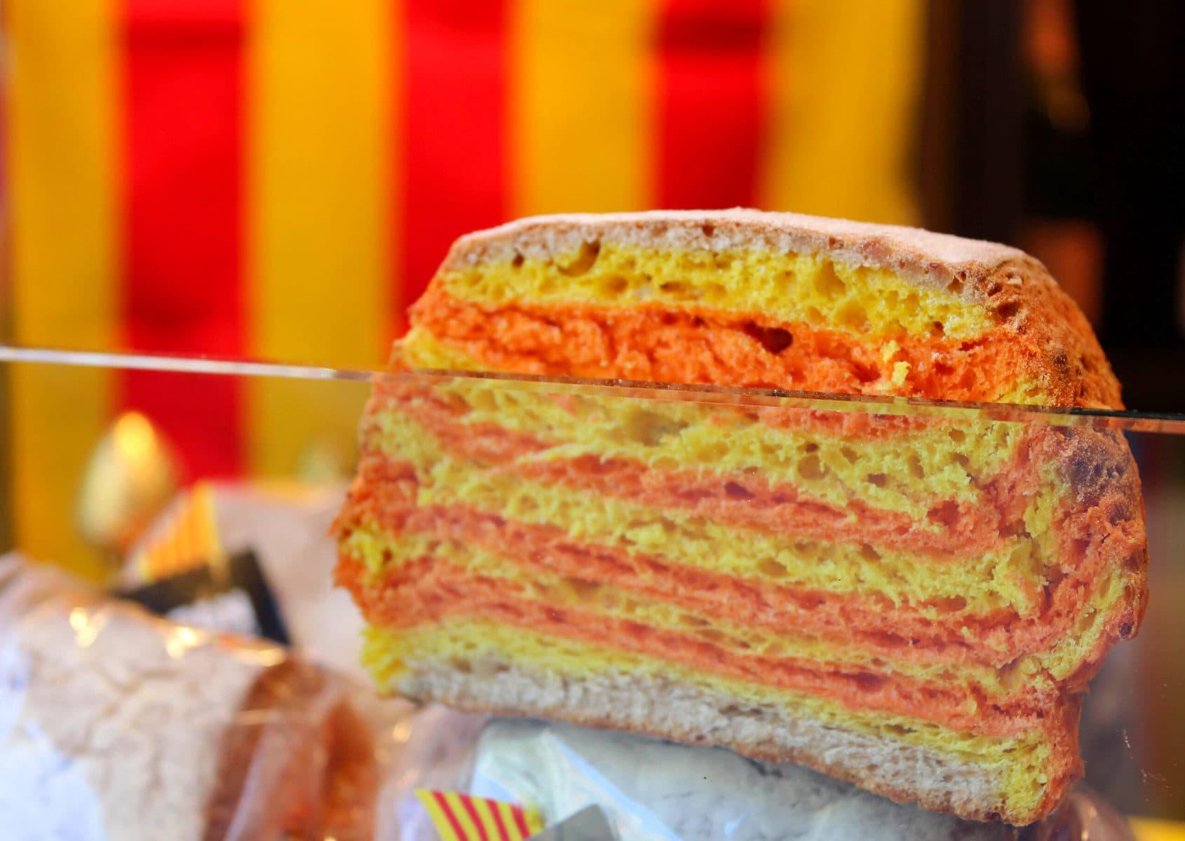 Kuchen zu Sant Jordi, Barcelona